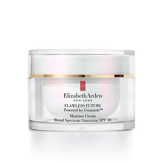 Elizabeth Arden Flawless Future Powered By Ceramide Moisture Cream Broad Spectrum Sunscreen Spf 30 Moisturizer Moisturizer Cream Spf Sunscreen