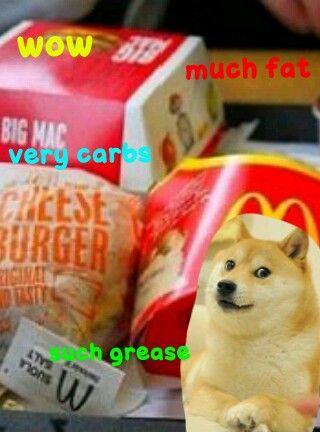 McDonalds doge? You mean McDoge