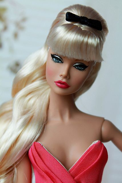 Tricks Up Her Sleeve Poppy Parker   Flickr I don't know if this is a barbie but it is definitely the same style.