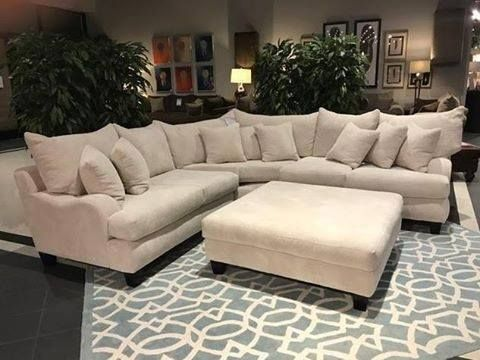 The Primo Stone Sectional From Gallery Furniture Is Chic And Versatile And Will Give You The Freedom To Decor Gallery Furniture Sectional Living Room Sectional