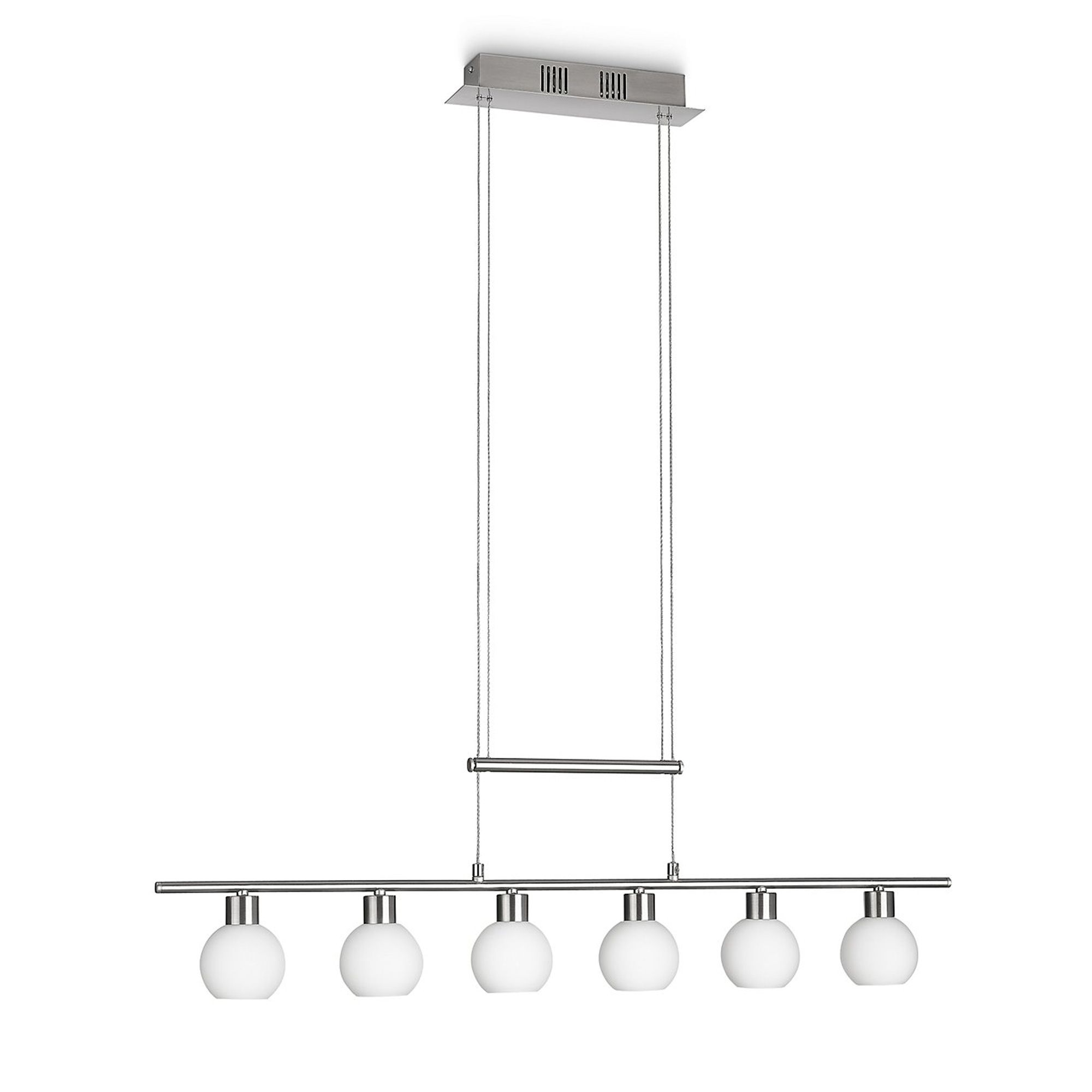 Luminaire suspension design LIAM 3 lampes  LED structure en métal