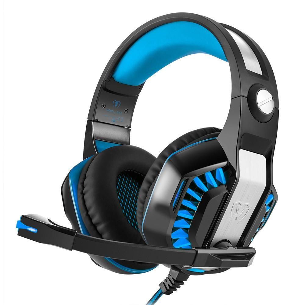 Surround Stereo Gaming Headset Headband Headphone Usb 35mm Led With