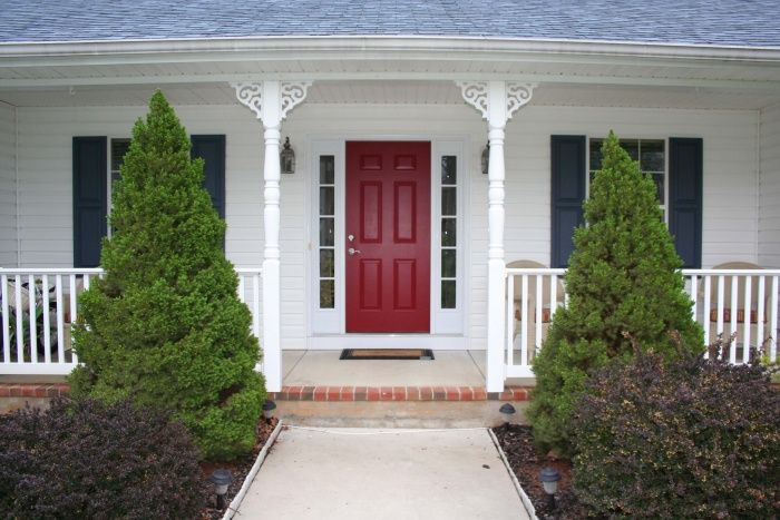 front entry door paint/color advice - interior decorating - diy