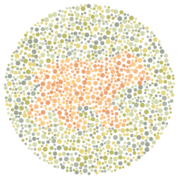 Color Blind Chart