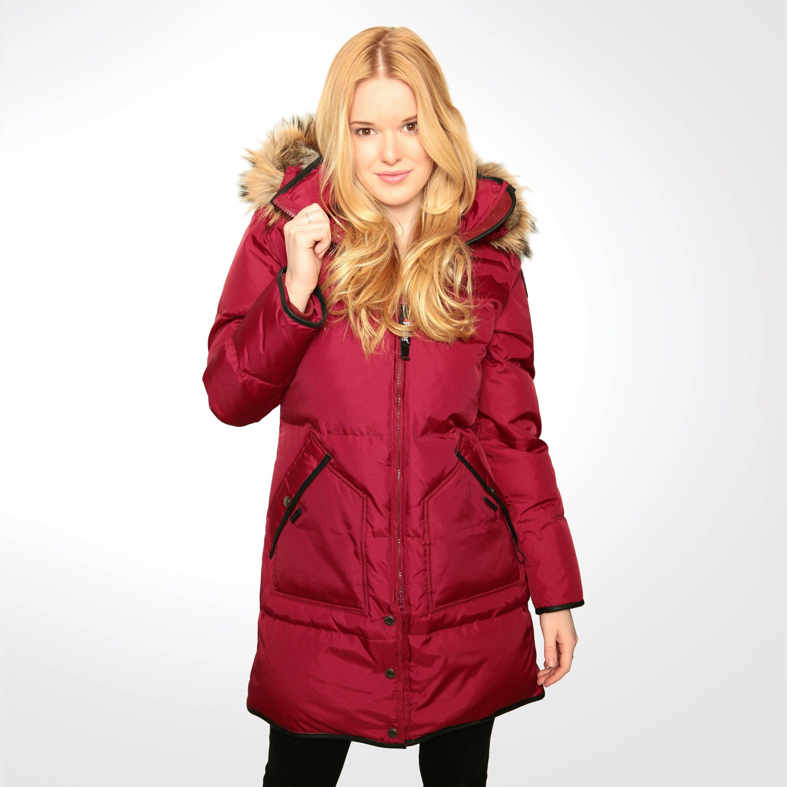 Cougar Red   Pajar USA   winter fashion   Pinterest   Winter ...