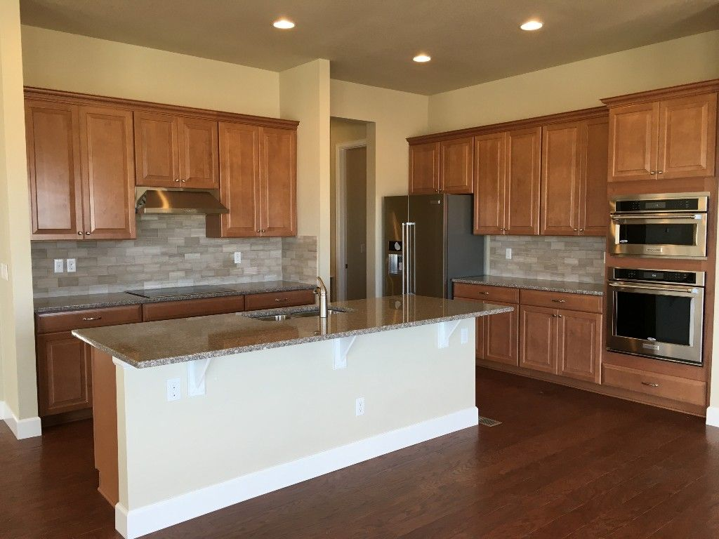 Maple cabinets in spice   Kitchen remodel, Timberlake ...