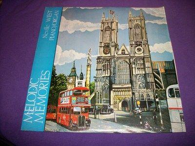 "Neville West Melodic Memories Baldwin CS 8222 Rare 12"" Vinyl LP Harrisburg, Pa"