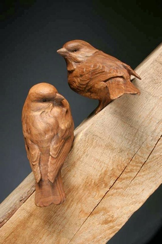 Craig hone perfectos animales tallados en madera de nogal