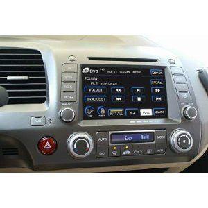Oem Replacement Dvd 7 Touchscreen Gps Navigation Unit For Honda Civic 2006 2007 2008 2009 2010 2011 With Radio Am Fm Ipod Interface Honda Civic Civic Honda