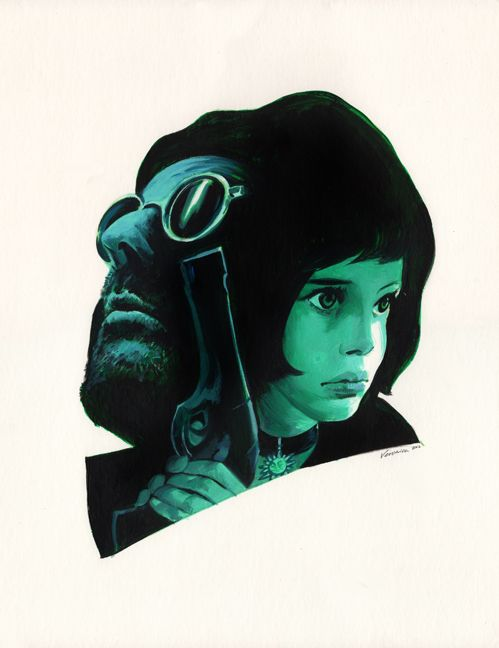 Leon The Professional by Veronica Fish
