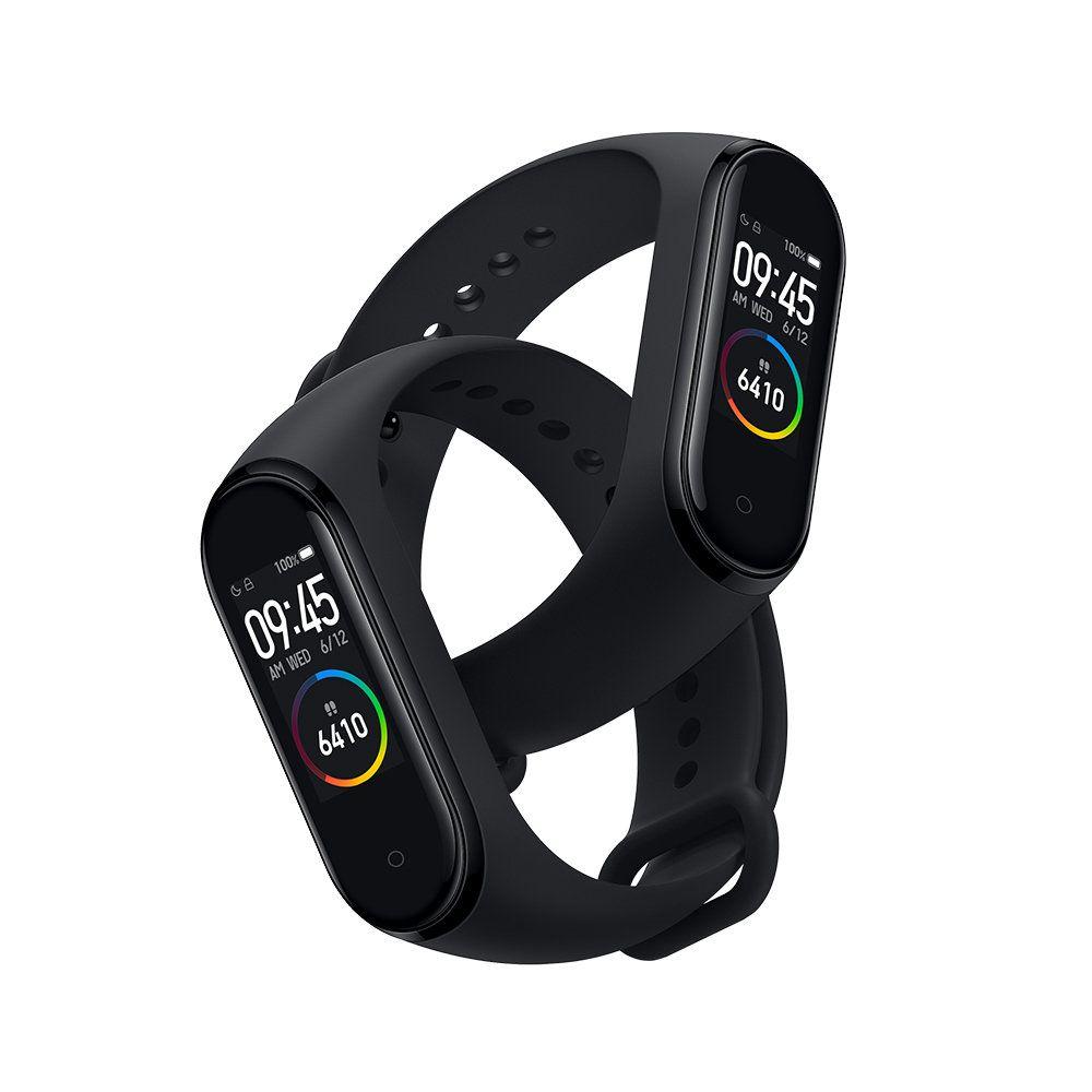 Original Xiaomi Mi Band 4 Amoled Farbdisplay Armband Bluetooth 5 0 135 Mah Batterie Fitness Tracke In 2020
