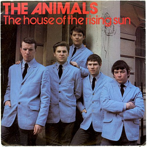The Animals House Of The Rising Sun House Of The Rising Sun Rock Album Covers Eric Burdon