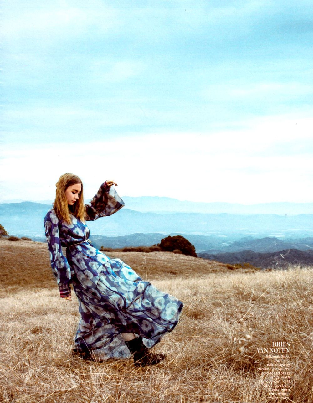 Saoirse Ronan by Lisa Eisner for InStyle US March 2013