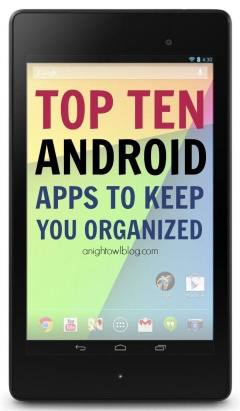 Organize Your Life A Nexus 7 Review Nexus 7