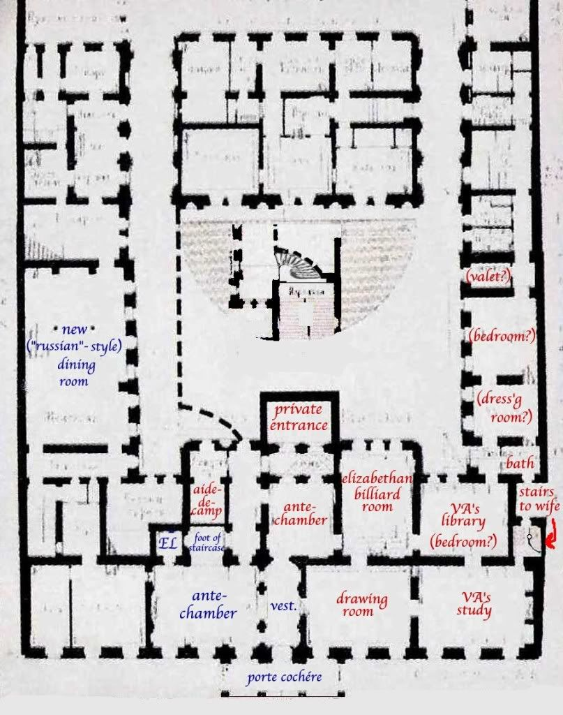 Ground Floor Plan Of The Vladimir Palace Residence Of Grand