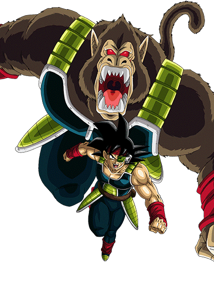 Dragon ball z bardock great ape dragon ball dragon - Dbz fantasy anime ...