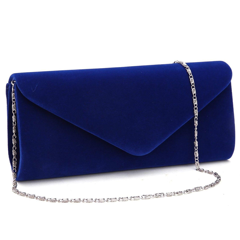 Women Clutch Purse Evening BagGesu Velvet Envelope Handbags For Wedding and  Party Elegant. - Navy Blue - CR185E8AUHU   Clutch purse evening, Envelope  handbag, Blue clutch purse