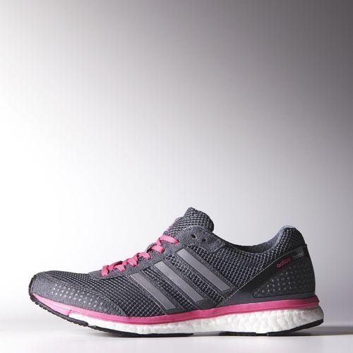 Inclinarse uvas Haz todo con mi poder  Adidas Women's Running adizero Adios Boost 2.0 Shoes - Vista Grey /  Metallic Silver / Neon Pink(B41002) | Adidas, Boost shoes, Shoes