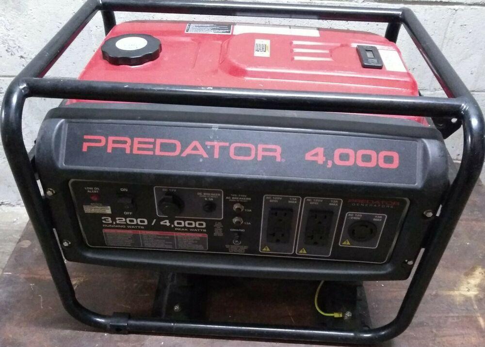 Harbor Freight Predator 4000 Gasoline Powered Inverter