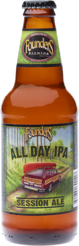 Founders All Day IPA - Bottle The beer you've been waiting for. Keeps your taste satisfied while keeping your senses sharp. An all-day IPA naturally brewed with a complex array of malts, grains and hops. Balanced for optimal aromatics and a clean finish. The perfect reward for an honest day's work and the ultimate companion to celebrate life's simple pleasures. ABV: 4.7% #foundersbrewery #michiganpantry