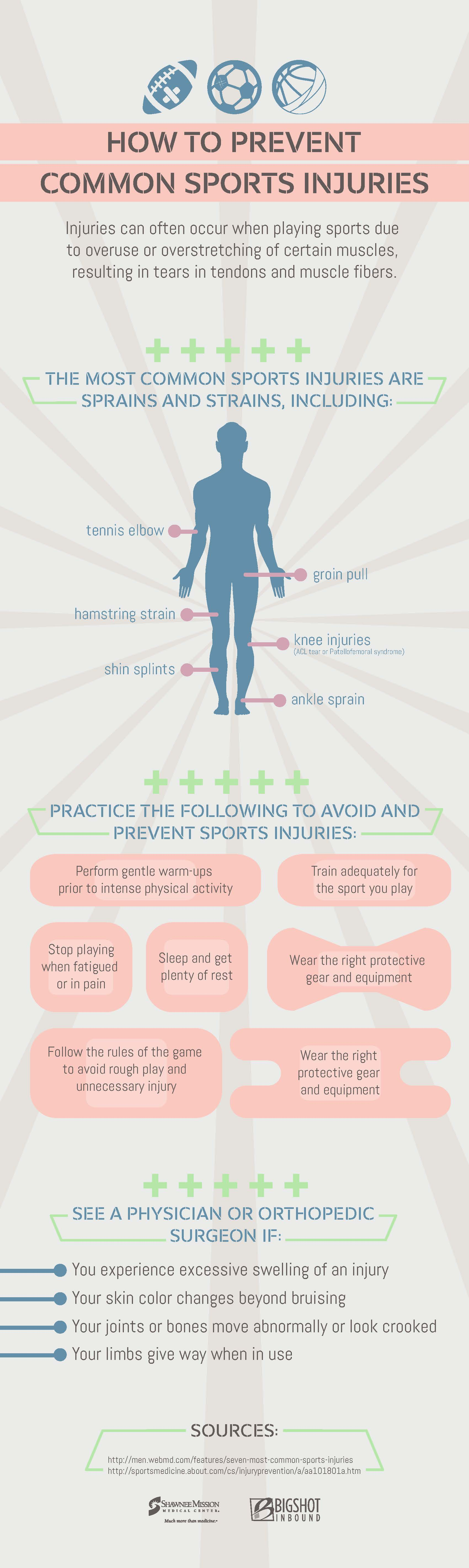 How to prevent common sports injuries Sports injury