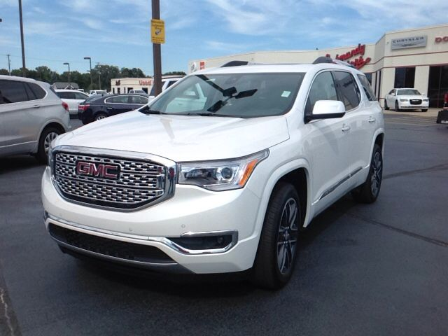 New 2017 Gmc Acadia Denali Suv Elkhart It Delivers An Exhilarating Ride Without Compromising Safety And Comfort It Includes With Images Gmc Acadia 2017 Gmc Acadia Denali