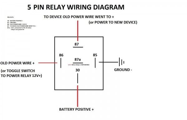 5 Pin Relay Wiring Diagram 4rd
