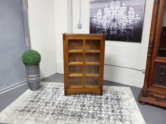 Antiques By Design -  Life-Time Furniture Quartered Oak Bookcase