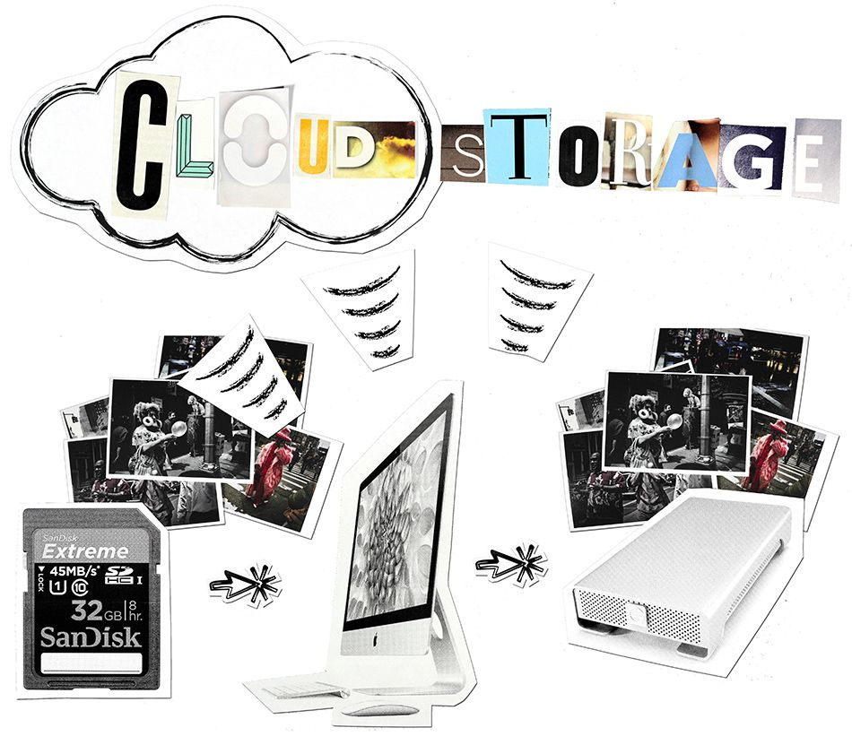 cloud storage what is the best way to store digital photos