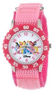 "Disney Girls' W000042 ""Time Teacher"" Princess Watch 