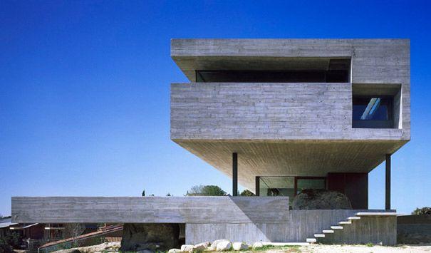 Pitch's House - Iñaqui Carnicero - Béton brut apparent et Modernisme revisité