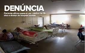 Resultado de imagem para imagens do caos na saúde na terra das olimpiadas