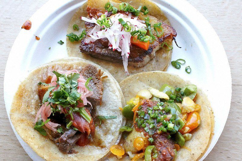 Guerrilla tacos a downtown los angeles restaurant known