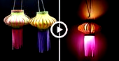 Wie man Papierlaterne für Diwali macht   Kandil Making   Diwali Dekoration Ideen -... # Dekor...