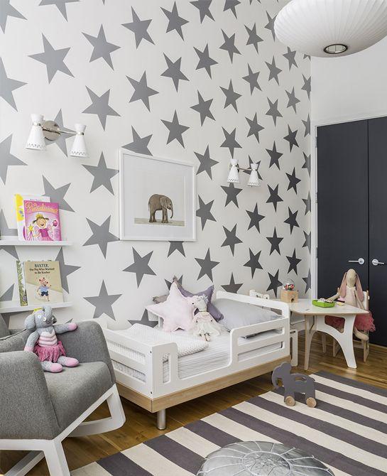 1000 images about papier peint on pinterest star wallpaper ps and birdhouses - Papier Peint Chambre Bebe
