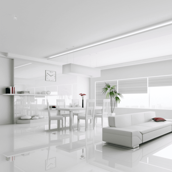 High Gloss Max 8mm White High Gloss Laminate Flooring C500 White Laminate Flooring White Tile Floor White Laminate