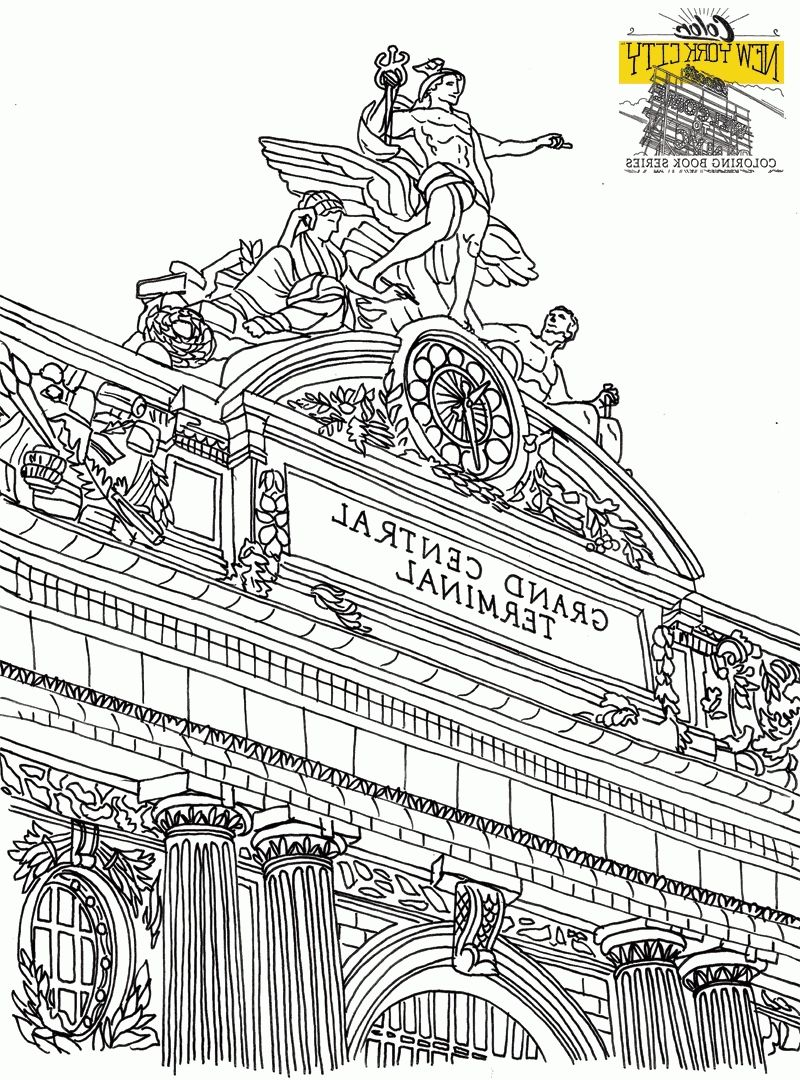 New York Coloring Books 5h7k Free Nyc Coloring Pages New York