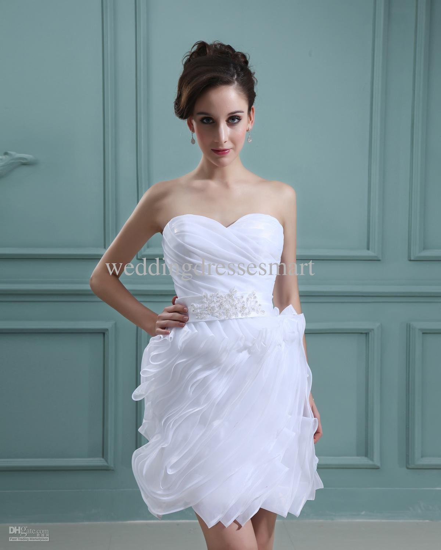White Short Wedding Dresses - Wedding Dresses for Cheap Check more ...