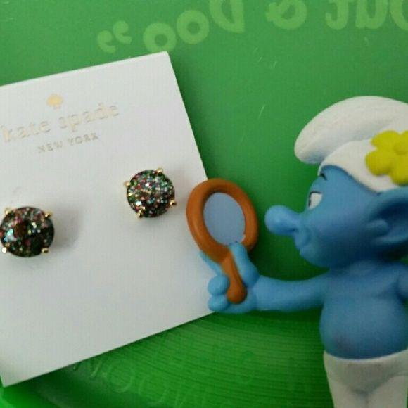 Kate spade  multi glitter earrings drops Kate spade multi glitter earrings gum drops kate spade Jewelry