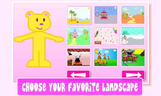 #Pepavestiditos pantalla donde elegir el escenario preferido