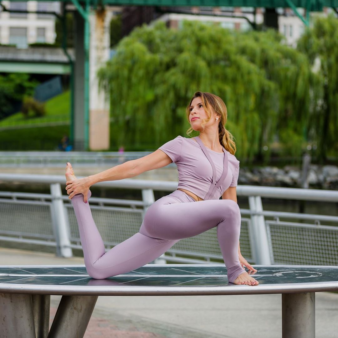 For me, Yoga 🧘🏻♀️ is a very personal practice where I try to find serenity on the mat. Sometimes I...