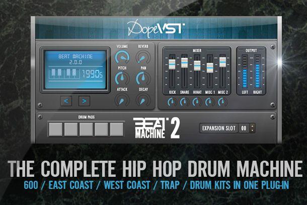 beat machine 2 dopevst vsti vst au hip hop beatmaking production software soundz software in. Black Bedroom Furniture Sets. Home Design Ideas