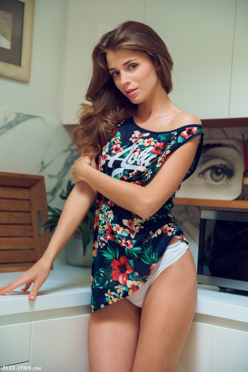 Phrase and Skinny russian brunette girls nude