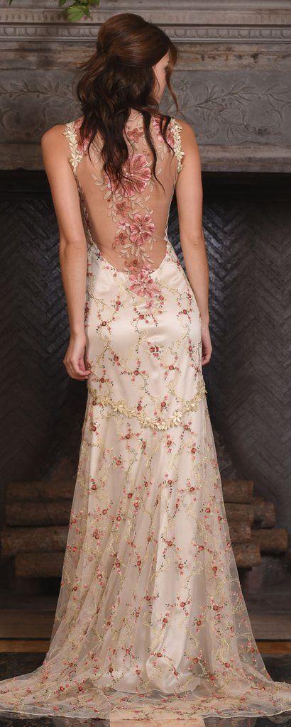 964fd9d82a9 Claire Pettibone Couture Vinatge Wedding Dresses 2017 Maple   http   www. himisspuff