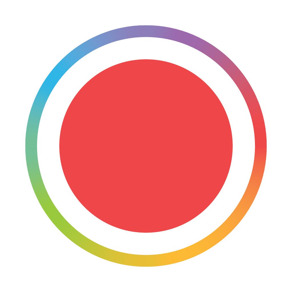 Spark Camera app icon Iphone photo editor app