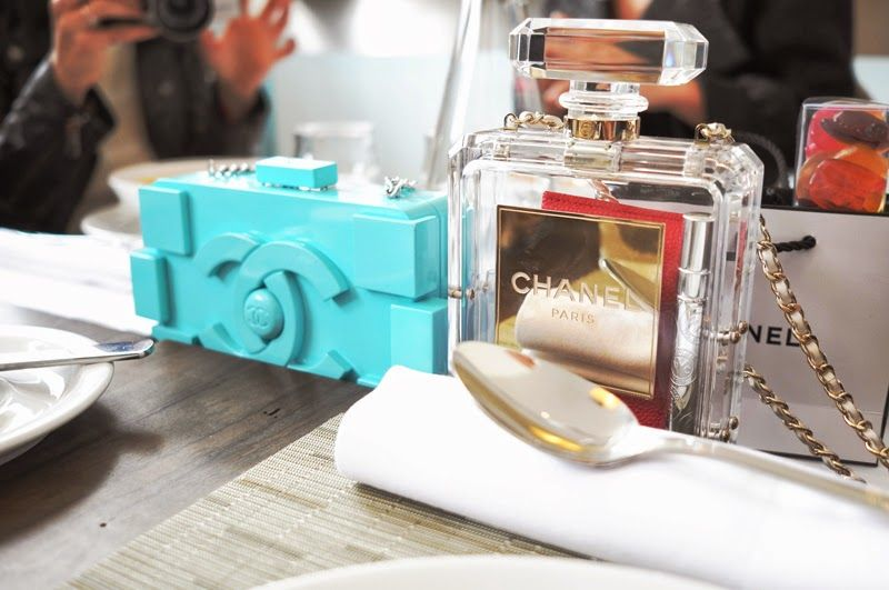 chanel lunch