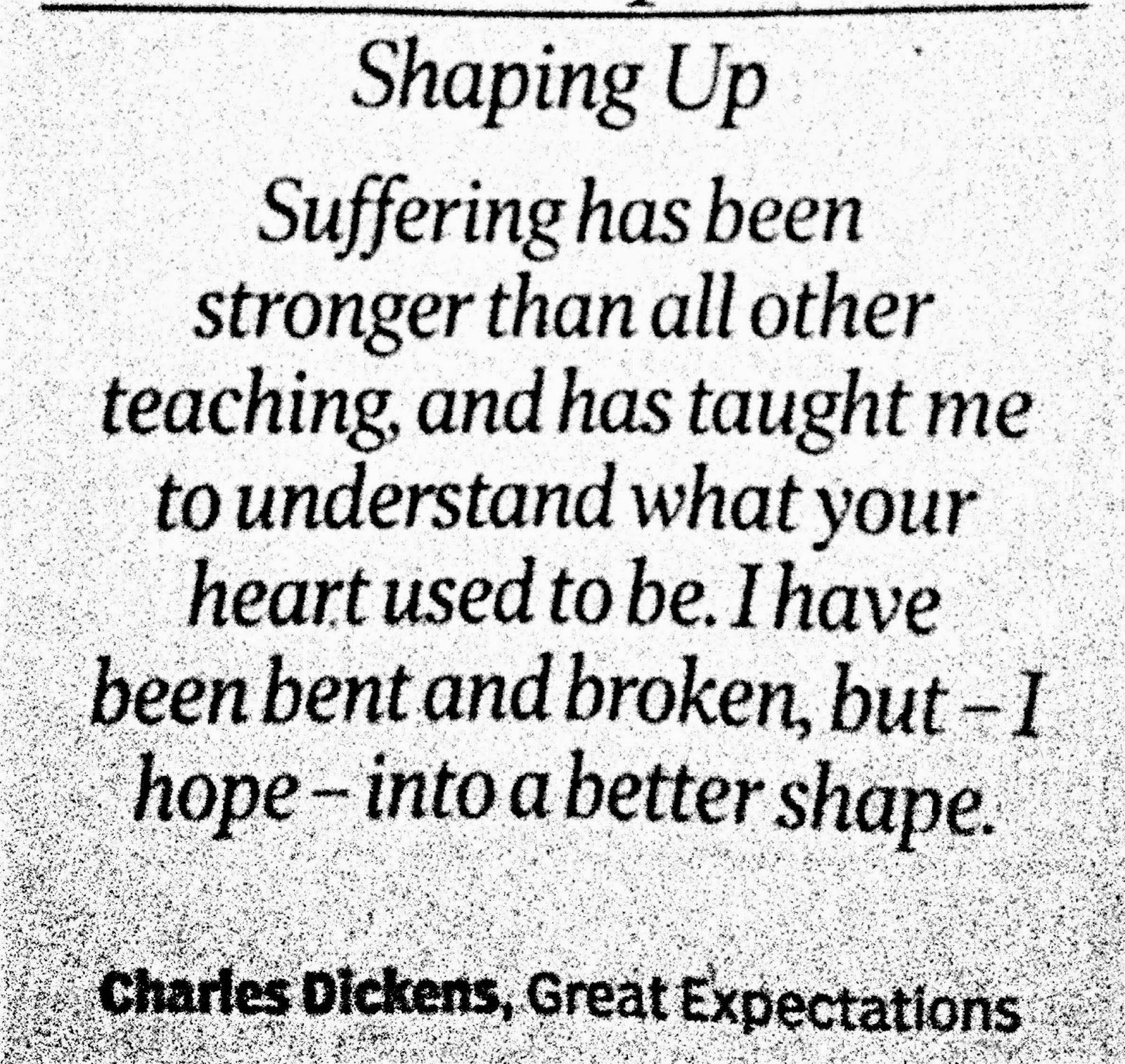 What Life Has Taught Me Quotes Thoughtsnlife Shaping Up Suffering Has Been Stronger Than
