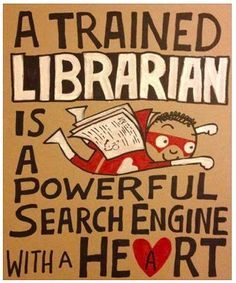 Image result for LIBRARIAN GOOGLE HEART