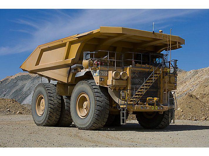cat 793d mining truck caterpillar