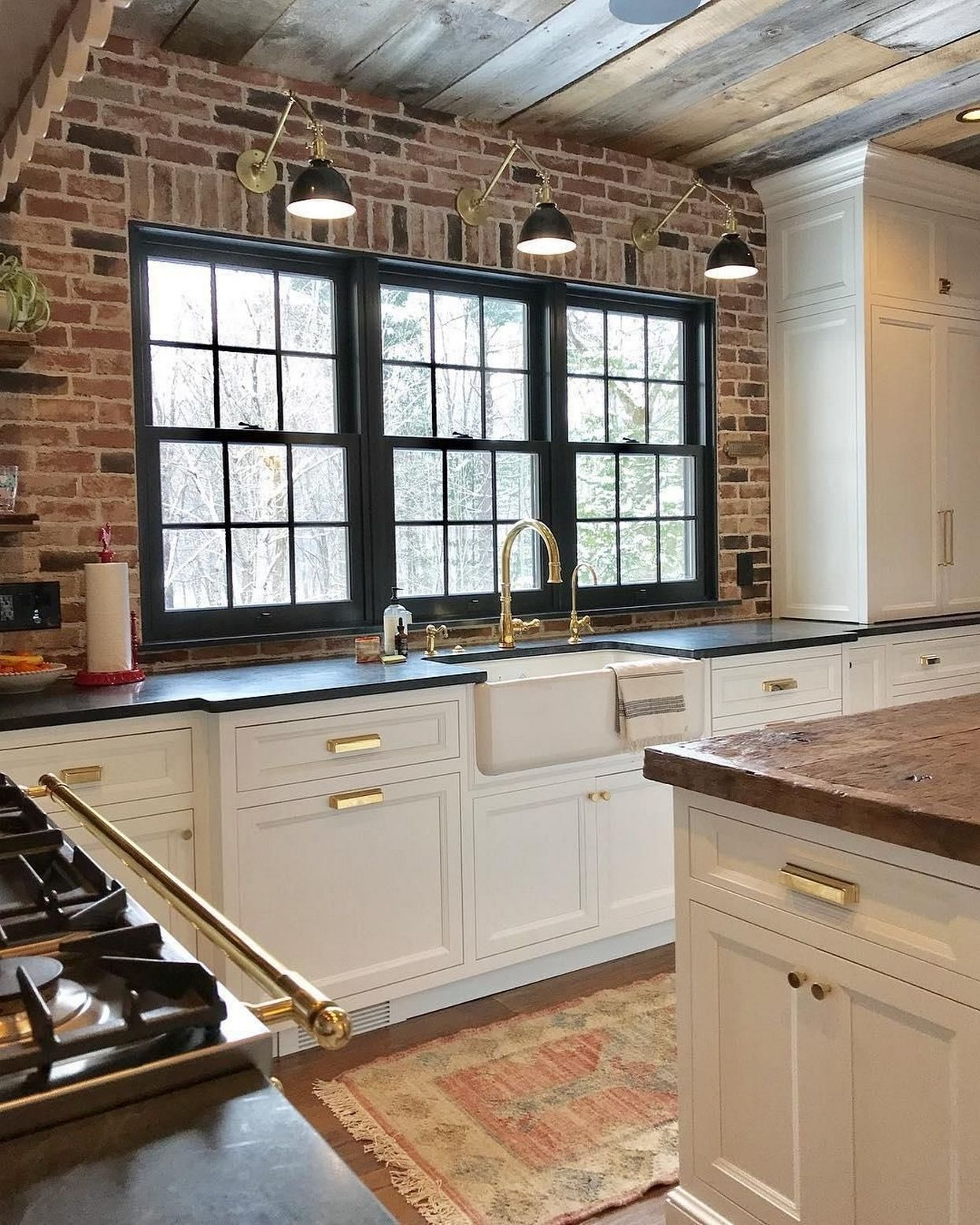 Rustic Hardwood Flooring Tips And Suggestion: 34 Best Choices Kitchen Ideas